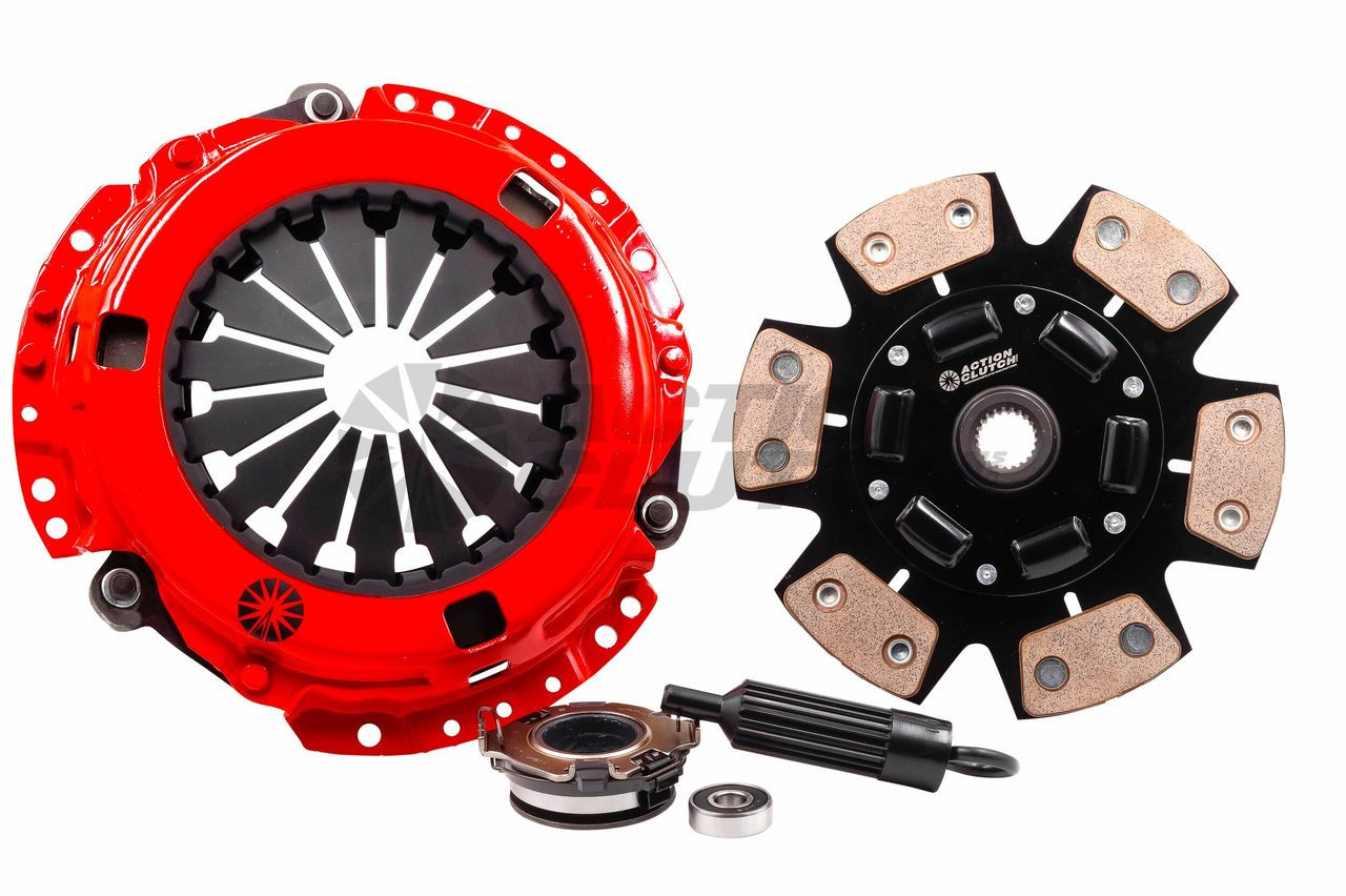 Action Clutch - Stage 3 1MS (Metallic Sprung) Incl  HD Pressure  Plate+Bearing Kit Honda Civic SI 2006-2011 2 0L 6-speed