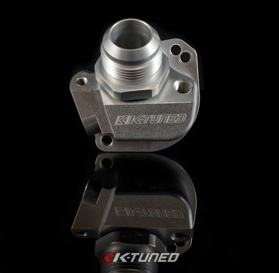 K-TUNED THERMOSTAT HOUSING SWIVEL NECK RECIRCULATION FITTING KST-CF-101