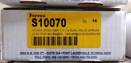 Ferrea - Endurance Valve Springs - (B18C1-C3 - H22A1-A4) - S10070