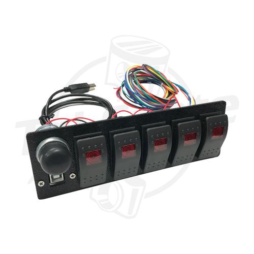 Wirewhere - 5-Switch Panel