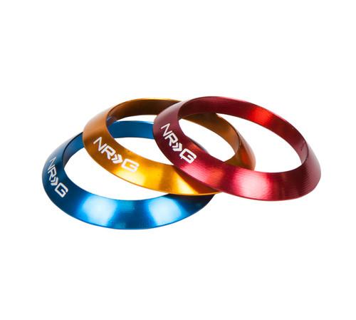 NRG - Interchangeable Rings Knob (White)