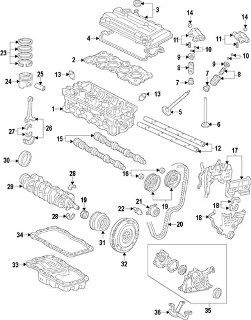 Honda - B-Series Rear Main Crank Seal