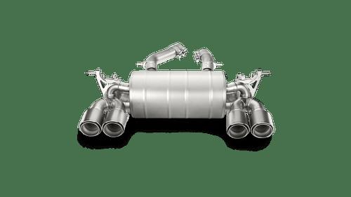 Akrapovič - 14-17' BMW M3/M4 (F80/F82) Slip-On Line Exhaust (Titanium)