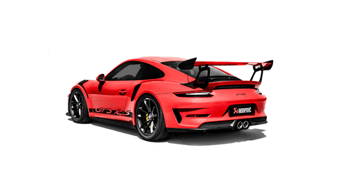 Akrapovič - 2018 Porsche GT3 RS (991.2) Slip-On Line Titanium Exhaust (Req. Tips)