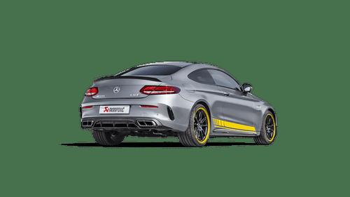Akrapovič - 16-18' AMG C63 Coupe Evolution Line Titanium Cat-Back w/ Carbon Tips