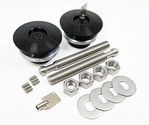 Quik-Latch - QL-50L-LP Lockable Hood Pin Sets