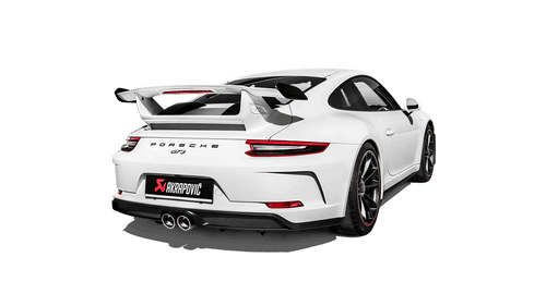 Akrapovič - 18' Porsche 911 GT3 (991.2) Slip-On Race Line Titanium Exhaust w/o Tail Pipe Set