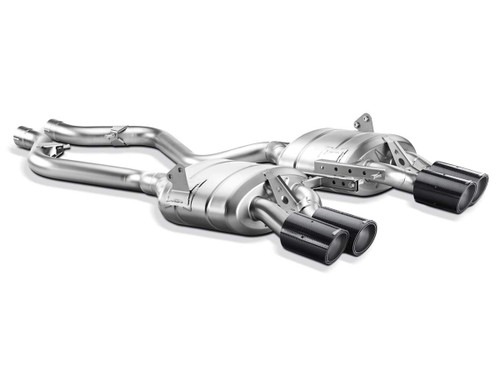 Akrapovic - 07-13' BMW M3 (E92 E93) Slip-On Line (Titanium) w/ Carbon Tips