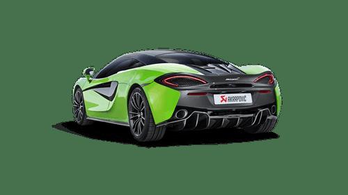 Akrapovic - 16-17' McLaren 540C 570S Slip-On Line Titanium Exhaust w/ Carbon Tips