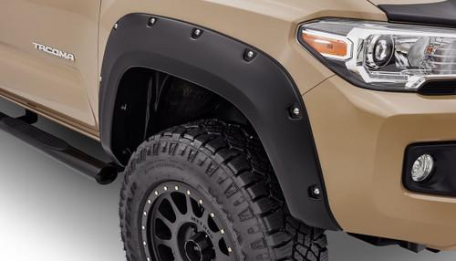 Bushwacker - 16-18' Toyota Tacoma Pocket Style Flares 4pc