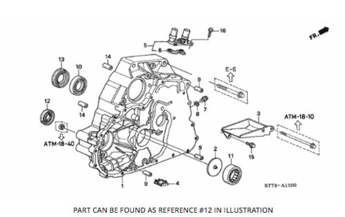 Honda - Transmission-Output Shaft Oil Seal (left)