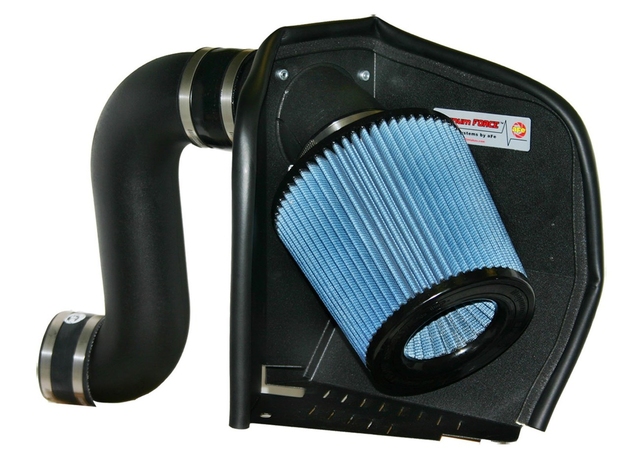 Filter Combo RED Compatible For 12-14 Ford F150 3.5L V6 EcoBoost Cold Air Intake System with Heat Shield Kit