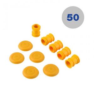 Tramex RHHL50X Hygro-i Extra Long Hole Liners - 50 sets of Hole liners and caps with Extra Long Retrieval Tool