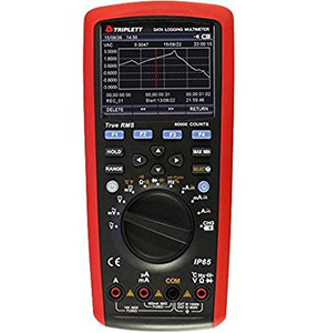 Triplett 9065 True RMS Data Logging Multimeter with Dual Temperature Measurement