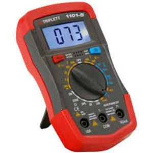 Triplett 1401 True RMS Compact Digital Multimeter with Backlit LCD, 52 Measur...