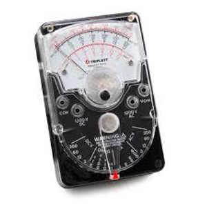 TRIPLETT 3018 Classic Analog Meter, Range Switch and Drop Resistant Case