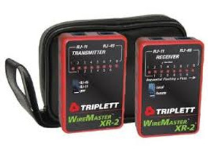 Triplett WireMaster XR-2 3254 LAN Cable Test Set with Tracer Tone and Carryin...