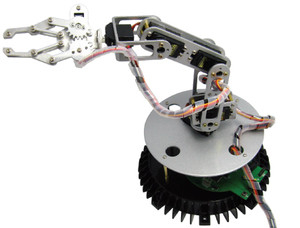 Global Specialties R700 Vector Robot Arm Kit w/Power Supply
