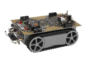 Global Specialties RP6V2-C Autonomous Robotic Vehicle Kit