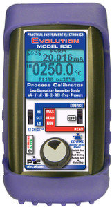 Piecal 830 Two isolated channels Multifunction Diagnostic Process Calibrator