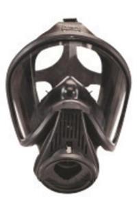 MSA 10043430 Facepiece Assy,Non Nfpa,Blk,Silicone,Sm