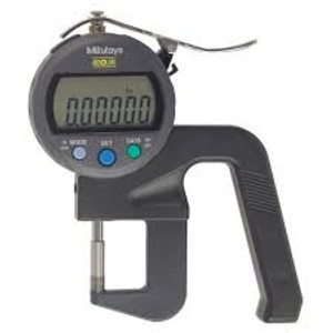 """Mitutoyo 547-400S Digimatic Thickness Gage 0-.470""""/12mmX.00005""""/0.001mm w/Carbide Anvils"""