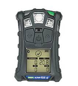 MSA 10178557 ALTAIR 4X Gas Detector, Charcoal, LEL, O2, CO, H2S Configured