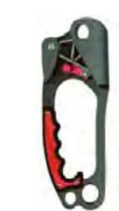 MSA SRP210 Ascender,Left Hand,8 X 3 1/2 X 1 1/8