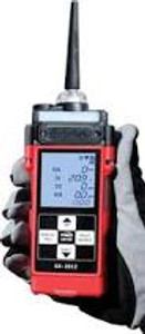 RKI Instruments GX-2012 Four-Gas Detector 72-0290-22-C LEL / O2 / H2S / CO  with Factory Traceable Certificate and Accessories