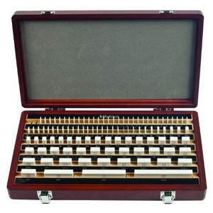 Mitutoyo 516-337-26 112 Piece Metric Gage Block Set Rectangular, Cera, ASME 00