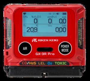RKI Instruments GX-3R Pro Five Gas Monitor