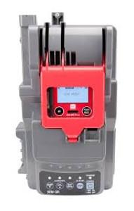 RKI 81-SDM3R103 SDM-3R calibration station with 1 solenoid, demand flow regulator, 58AL cyl H2S/CO/CH4/O2