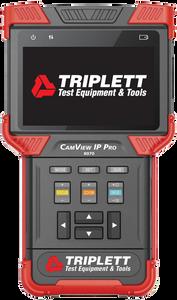 Triplett CamView IP AHD, TVI, CVI & IP Camera Tester (8090)