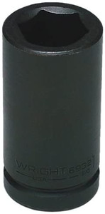Wright Tool 6960 1-7/8-Inch with 3/4-Inch Drive 6 Point Deep Impact Socket