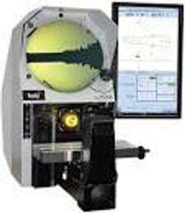 Fowler 53-900-185-1 x10 Magnification lens for R600 Optical Comparator