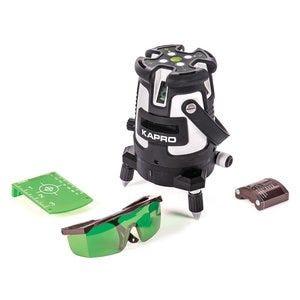 KAPRO. PROLASER 5-line plus plumb dot Green Laser