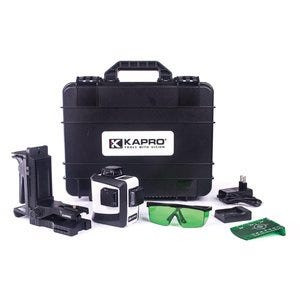 KAPRO. PROLASER 3D - 3 x 360 degree Green Laser and accessory kit