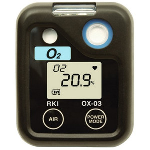 RKI Instruments 72-0010  03 Series O2 Single Gas Monitor