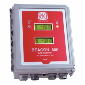 RKI Instruments Beacon 800 Eight Channel Fixed System Gas Detection Controller