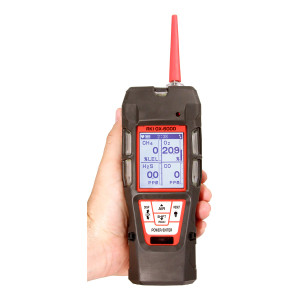 RKI Instruments GX-6000 34AL CYL 100PPM ISOBUTYLENE/H2S/CO/CH4/O2 CAL Kit 72-6ABX-DLV