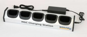 Gas Clip Technologies MGC-CHRG-STATION Multi Gas Clip 5 Bay Charging Station for Non Pump Model