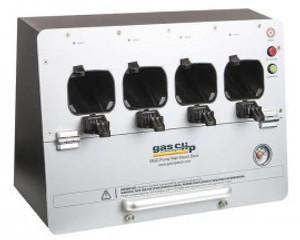 Gas Clip Technologies MGC-WMDOCK-PUMP Multi Gas Clip MGC Pump Wall Mount Dock