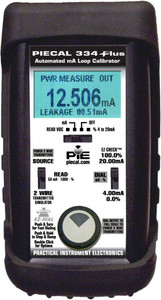 PIE 334PLUS.  Comes with rubber boot, hands free carrying case, test leads andNIST cert.