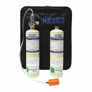 Macurco Gas Detection  CD-6MC / CD-12MC Carbon Dioxide CO2 Field Calibration Kit, 17L 400 ppm, 17L 5000 ppm, Reg. (F)