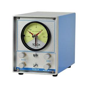 Nidec. Air Gauge Display with Single Channel, Single Needle Analog Gauge Dial, 200, 100 or 50 Micron Range MD-14L