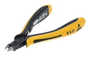 """Aven 10827F Accu-Cut Mini Oval Head Cutter, 4-1/2"""" Flush"""