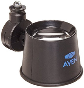 Aven 26034-LED Eye Loupe with LED Light, 10X Magnification, 25mm Diameter