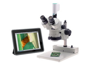 Aven 26100-256 Connect Adapt for New Generation Microscope Camera, White/ Green