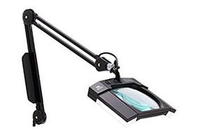 Aven 26505-ESL Mighty Vue Magnifying Lamp LED, ESD Safe, Black