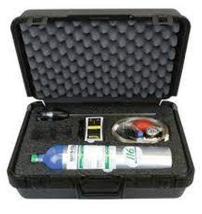 Gas Clip. Confined Space Kit for MGC Simple & Simple Plus with 58L Quad Gas (25 ppmH2S, 100 ppm CO, 18% O2 & 50% LEL)  Detector sold separately  MGC-S-CSK-GAS